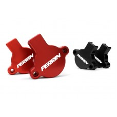 PERRIN CAM SOLENOID GUARDS FOR 2015-16 WRX (Red and Black)