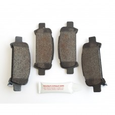 SCR Rear Brake Pads, Late Classic