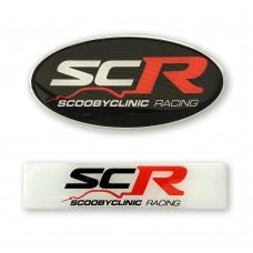 Scoobyclinic Racing SCR Badge Emblem