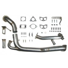 SCR Scoobyclinic Racing Rotated Turbo - Exhaust Kit